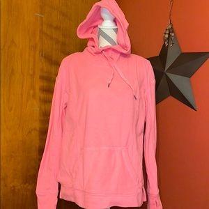 Super Soft Pink Tek Gear High Neck Hoodie